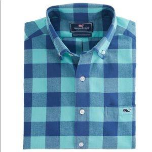 Vineyard Vines Flannel Slim Fit Tucker Shirt